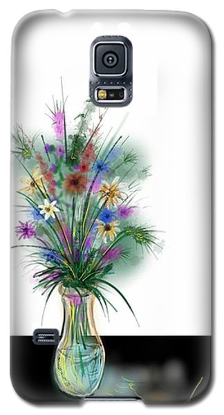 Flower Study One Galaxy S5 Case by Darren Cannell