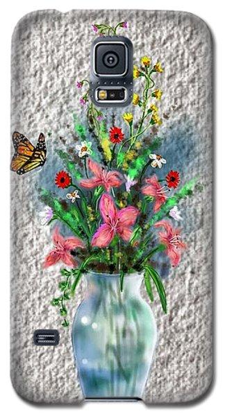 Flower Study Three Galaxy S5 Case
