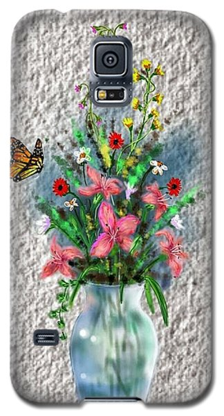 Flower Study Three Galaxy S5 Case