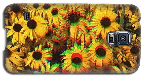 Flower Trip Galaxy S5 Case by Annie Walczyk
