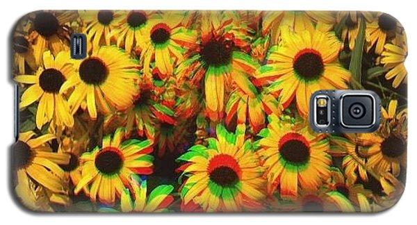 Edit Galaxy S5 Case - Flower Trip by Annie Walczyk