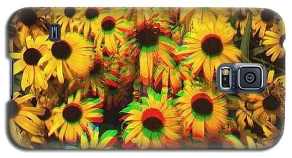 Edit Galaxy S5 Case - Flower Trip by Annie Walczyk