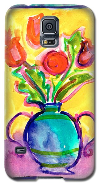 Flower Vase Galaxy S5 Case