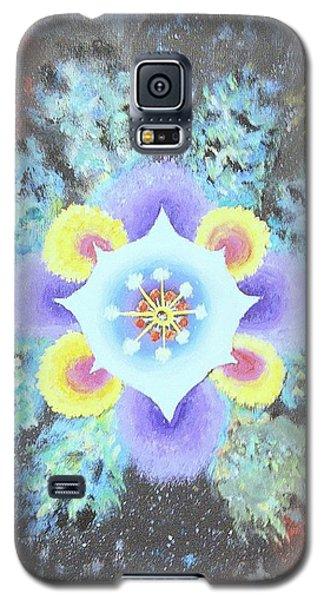 Floral Vortex Galaxy S5 Case