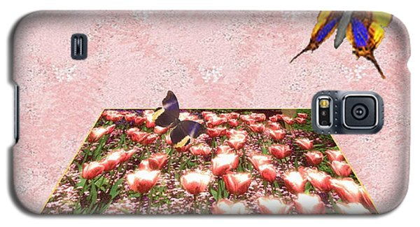 Flowerbed Of Tulips Galaxy S5 Case