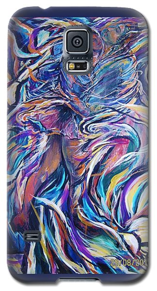 Flowering Galaxy S5 Case by Dawn Fisher