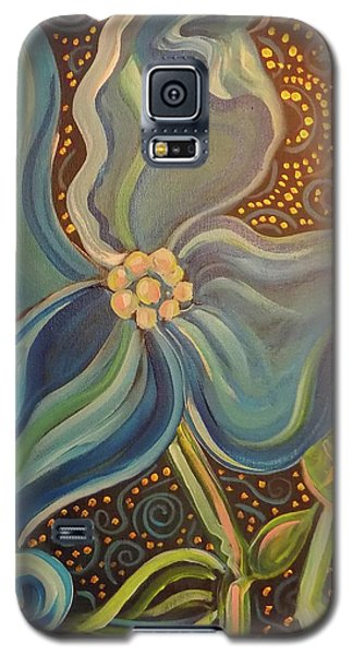 Galaxy S5 Case featuring the painting Flowering Dogwood by John Keaton