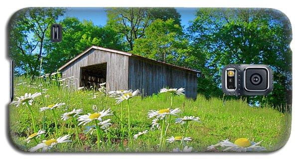 Flowering Hillside Meadow Galaxy S5 Case