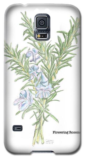 Flowering Rosemary Galaxy S5 Case