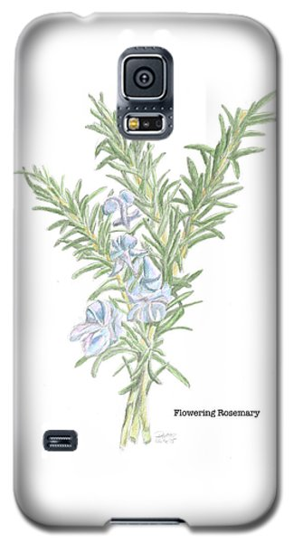 Flowering Rosemary Galaxy S5 Case