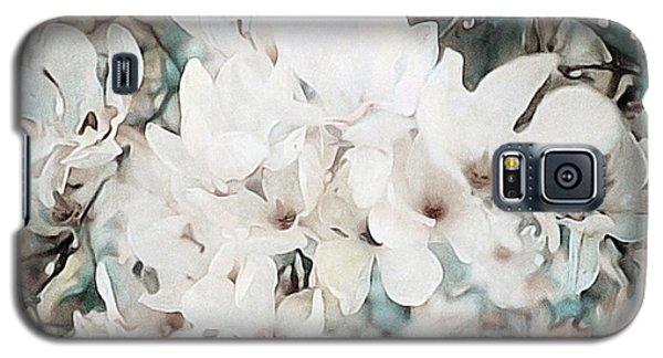 Magnolia Galaxy S5 Case - Flowering Star Magnolia by Susan Maxwell Schmidt