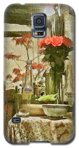 Flowers And Foliage Galaxy S5 Case