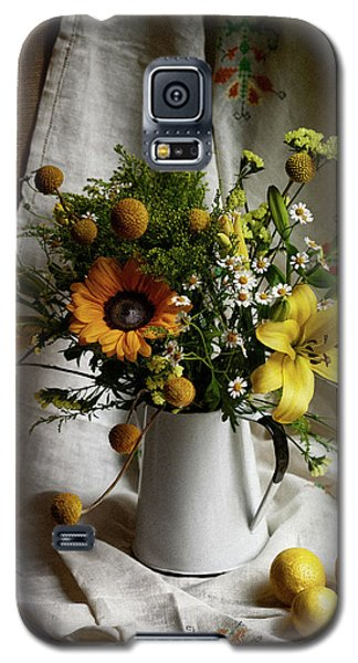 Flowers And Lemons Galaxy S5 Case