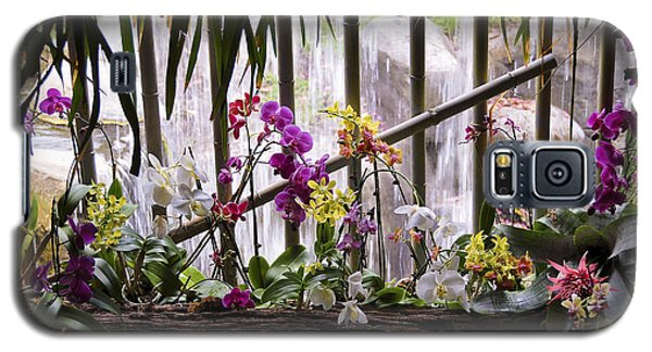 Flowers And Waterfall Galaxy S5 Case