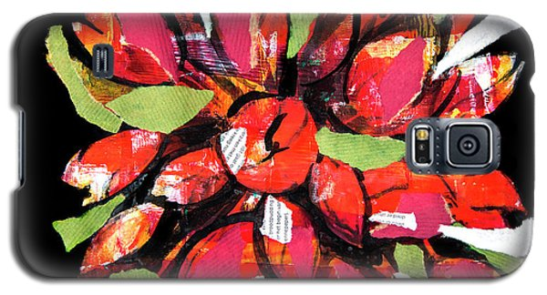 Flowers, Art Collage Galaxy S5 Case
