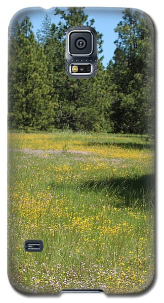 Flowers At Fish Hatchery Galaxy S5 Case