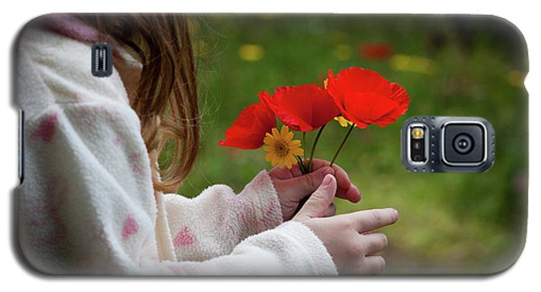 Galaxy S5 Case featuring the photograph Flowers by Bruno Spagnolo