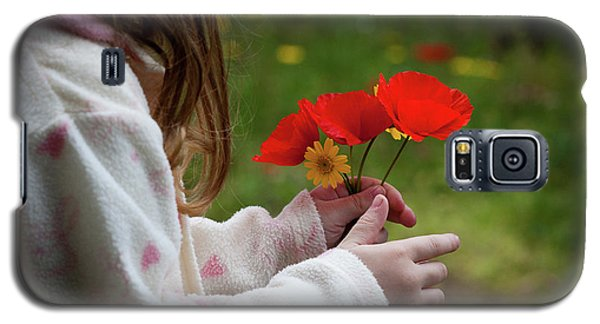 Flowers Galaxy S5 Case