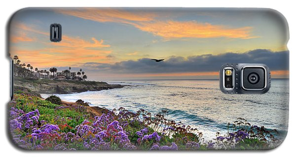 Flowers By The Ocean Galaxy S5 Case