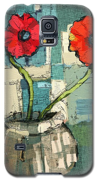 Flowers Galaxy S5 Case by Carrie Joy Byrnes