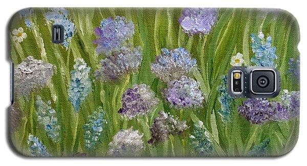 Flowers Field Galaxy S5 Case