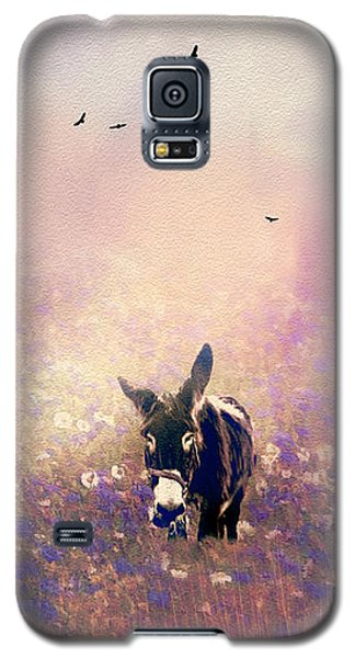 Galaxy S5 Case featuring the photograph Flowers For Breakfast by Diane Schuster