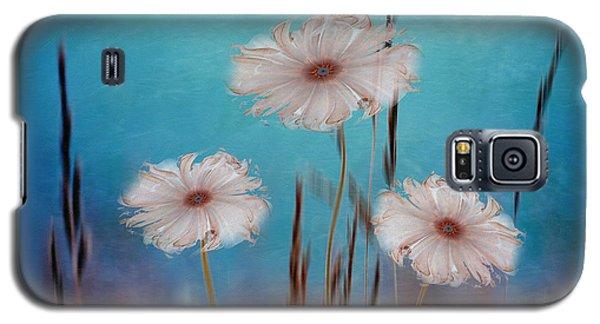 Galaxy S5 Case featuring the digital art Flowers For Eternity 2 by Klara Acel