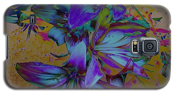 Flowers For The Heart Galaxy S5 Case