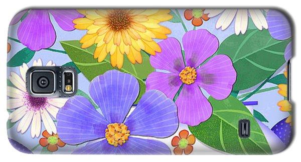 Flowers From My Garden Galaxy S5 Case