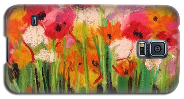 Flowers Galaxy S5 Case by John Williams