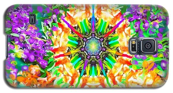 Flowers Mandala Galaxy S5 Case