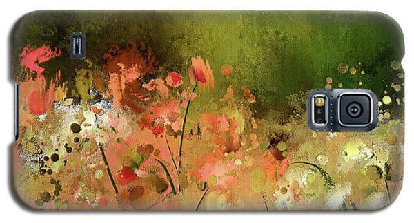 Galaxy S5 Case featuring the photograph Flowers Of Corfu by Lois Bryan