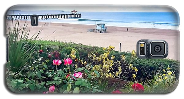 Flowers Of Manhattan Beach Galaxy S5 Case