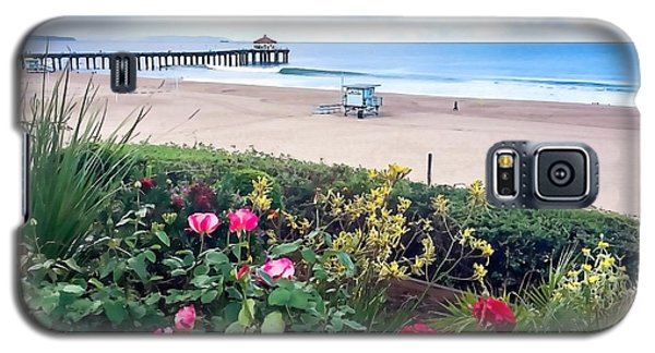 Flowers Of Manhattan Beach Galaxy S5 Case by Art Block Collections