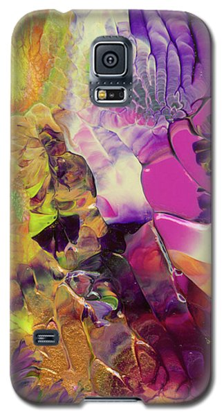 Flowers Of The Cosmic Sea Galaxy S5 Case