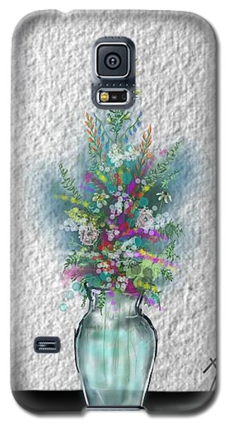 Flowers Study Two Galaxy S5 Case