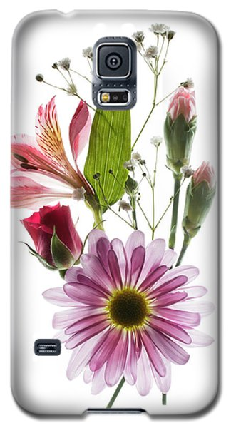 Galaxy S5 Case featuring the photograph Flowers Transparent 1 by Tom Mc Nemar