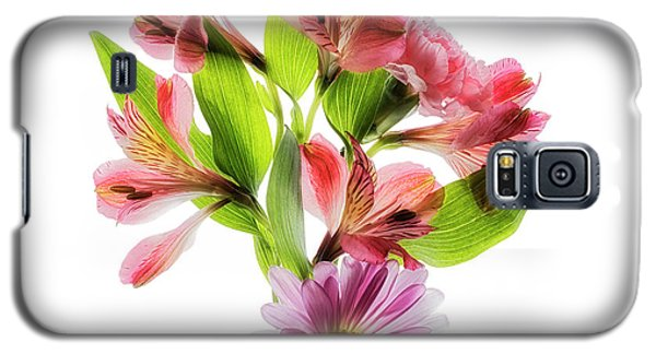 Galaxy S5 Case featuring the photograph Flowers Transparent  2 by Tom Mc Nemar