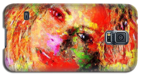Flowery Shakira Galaxy S5 Case