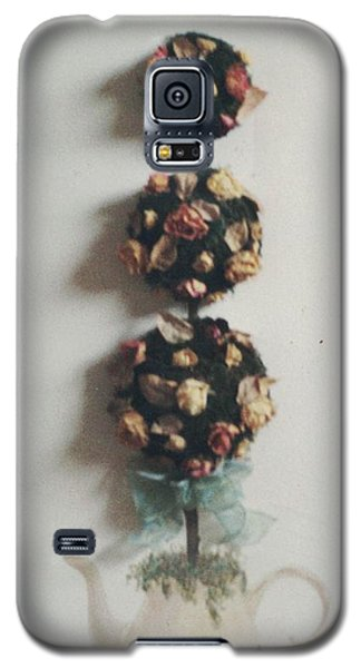 Flowery Teapot Galaxy S5 Case