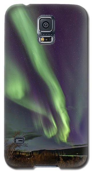 Flowing Aurora Galaxy S5 Case