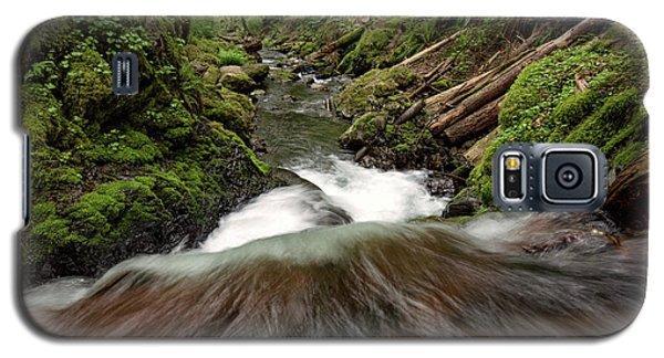 Flowing Downstream Waterfall Art By Kaylyn Franks Galaxy S5 Case