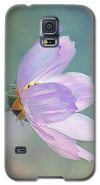Galaxy S5 Case featuring the photograph Flowing In The Wind by Elaine Manley