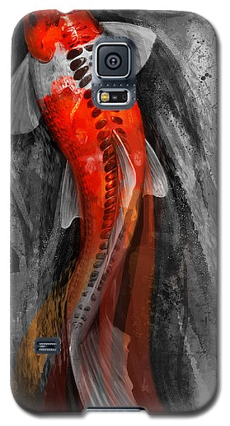 Flowing Koi Galaxy S5 Case by Steve Goad