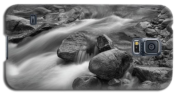 Galaxy S5 Case featuring the photograph Flowing Rocks by James BO Insogna