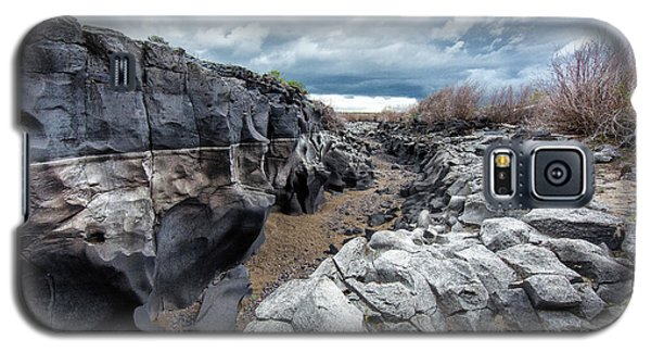 Flowing To The Storm Idaho Journey Landscape Art By Kaylyn Franks Galaxy S5 Case