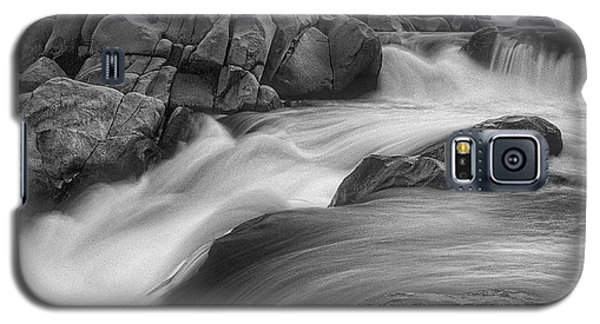 Flowing Waters At Kern River, California Galaxy S5 Case by John A Rodriguez