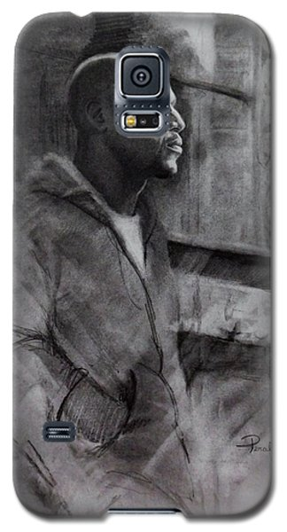 Galaxy S5 Case featuring the drawing Reflections Of Floyd Mayweather by Noe Peralez