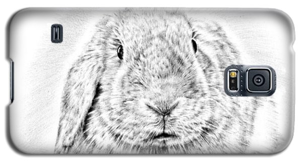 Fluffy Bunny Galaxy S5 Case