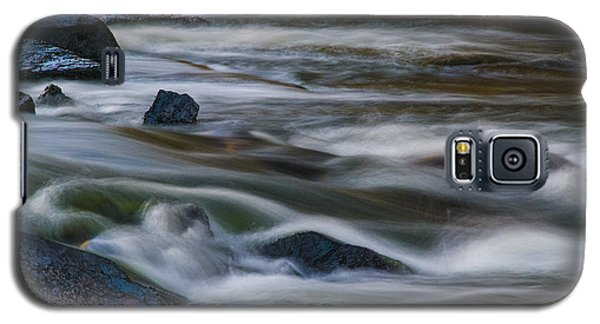 Galaxy S5 Case featuring the photograph Fluid Motion by Steven Richardson